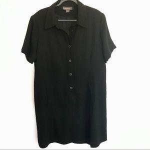 Designs Lane Bryant black short sleeve dress
